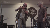 Jethro Tull's Ian Anderson & Claude Nobs, Montreux Jazz Festival 2012